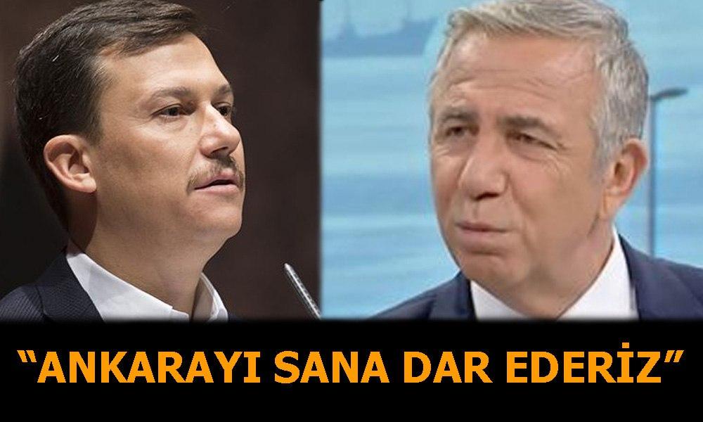 AKP Genel Sekteri Şahin'den Mansur Yavaş'a tehdit