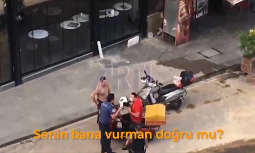 İstanbul Emniyeti'nden Kadıköy'de kuryeyi darp eden polisle ilgili açıklama