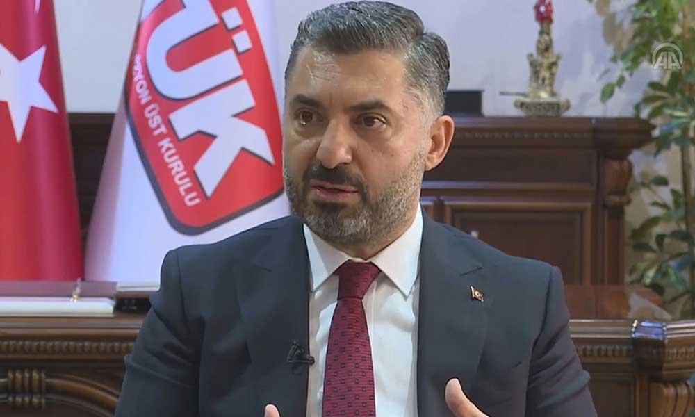 RTÜK Başkanı çark etti… Sevda Noyan için yeni açıklama