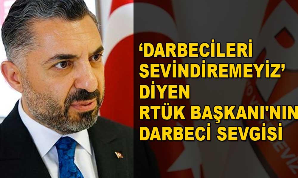 RTÜK Başkanı Ebubekir Şahin'in FETÖ övülen haberi paylaştığı ortaya çıktı