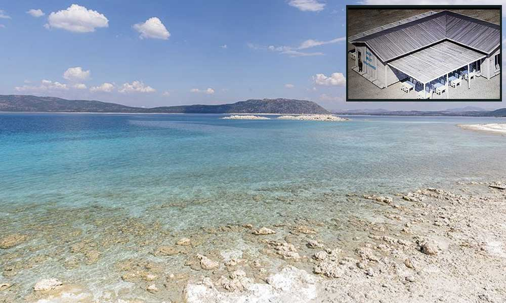 Salda Gölü'ne beton dökülecek… Otopark, millet kıraathanesi, bungalov