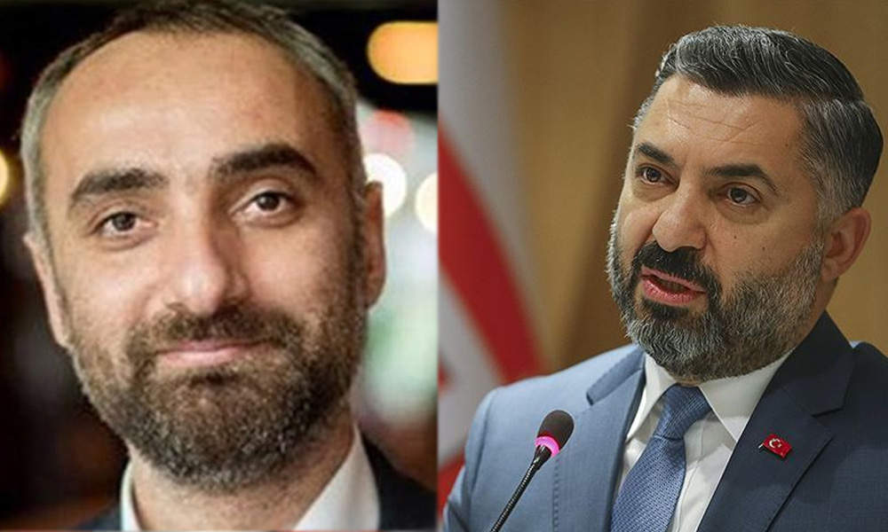 İsmail Saymaz ve RTÜK Başkanı sosyal medyada birbirine girdi!