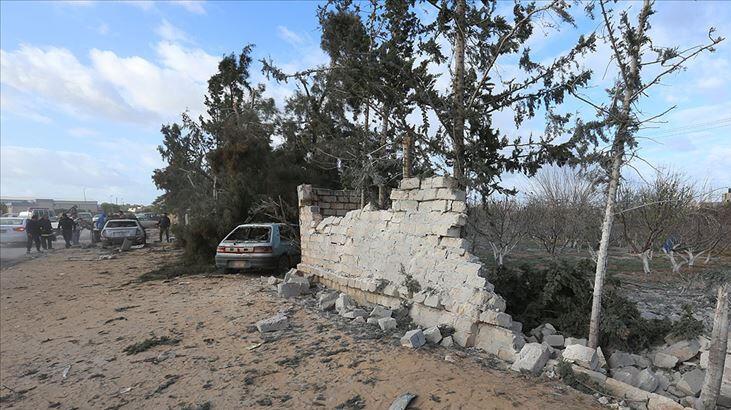 Libya'da roket saldırısı