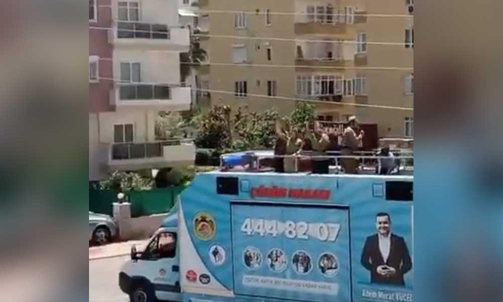 MHP'li belediye Sovyet Marşı çaldı, Ukrayna Büyükelçisi tepki gösterdi