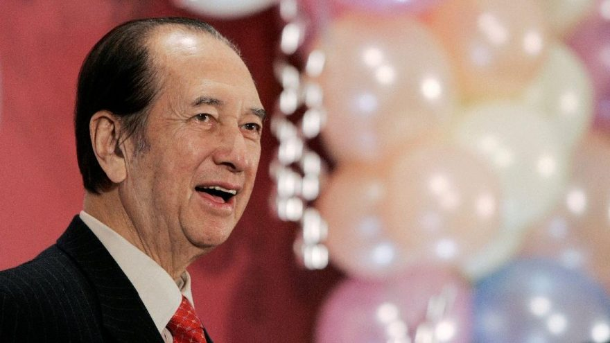 'Kumarhaneler Kralı' Stanley Ho hayatını kaybetti