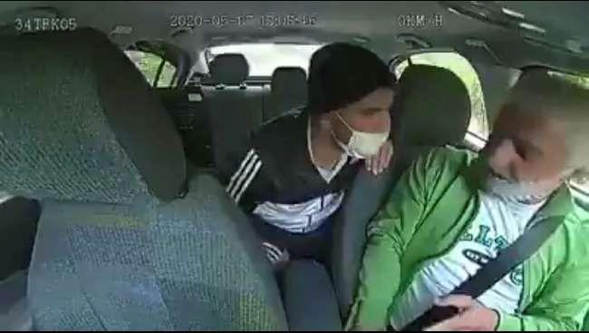 Taksicileri soyan bıçaklı gaspçı tutuklandı