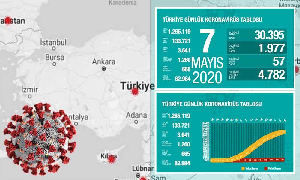 Türkiye'de koronavirüsten yaşamını yitirenlerin sayısı 3 bin 641 oldu