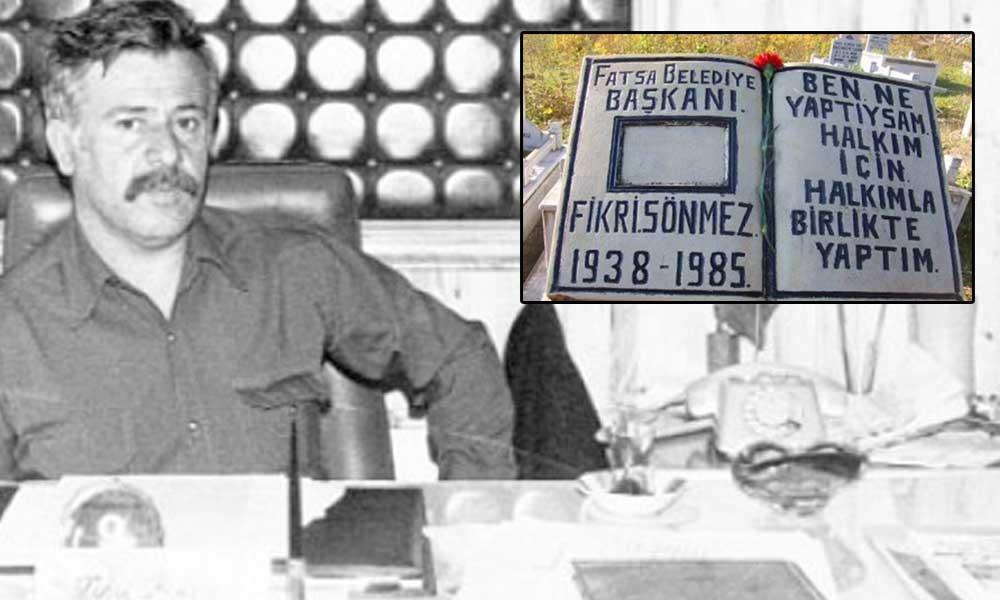 Türkiyenin ilk sosyalist belediye başkanı 'Terzi Fikri' 35'nci ölüm yıldönümünde anılıyor