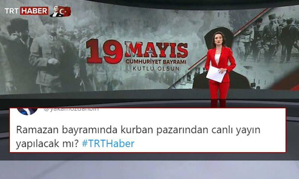 Milli bayramları karıştıran TRT Haber'e tepki yağdı!