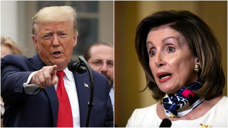 Trump ve Pelosi arasında 'şişko' kavgası
