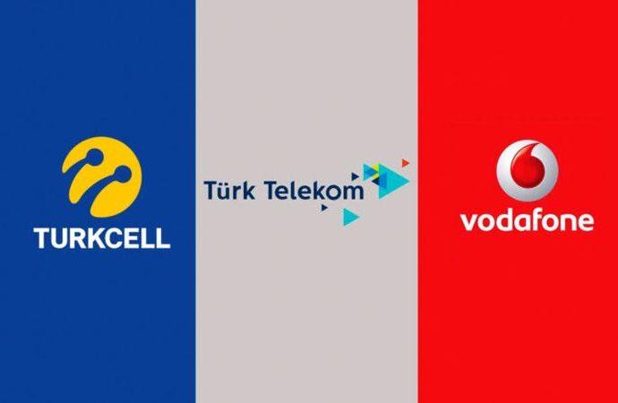 Turkcell Vodafone ve Türk Telekom'a soruşturma