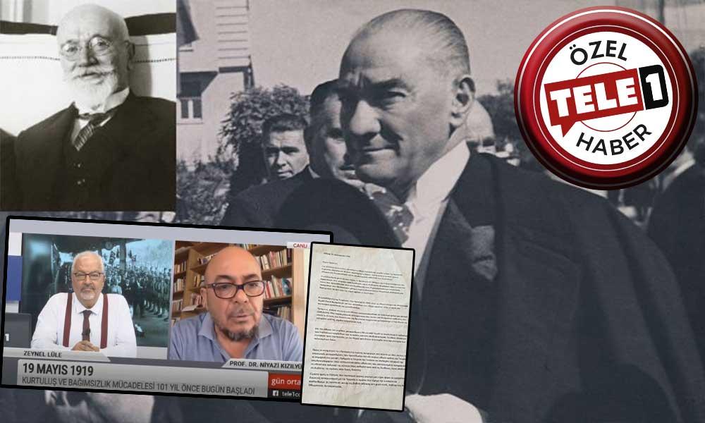 Düşmanı Venizelos'un Atatürk'ü Nobel Barış Ödülü'ne aday gösterdiği mektup ilk kez TELE1'de gün yüzüne çıktı