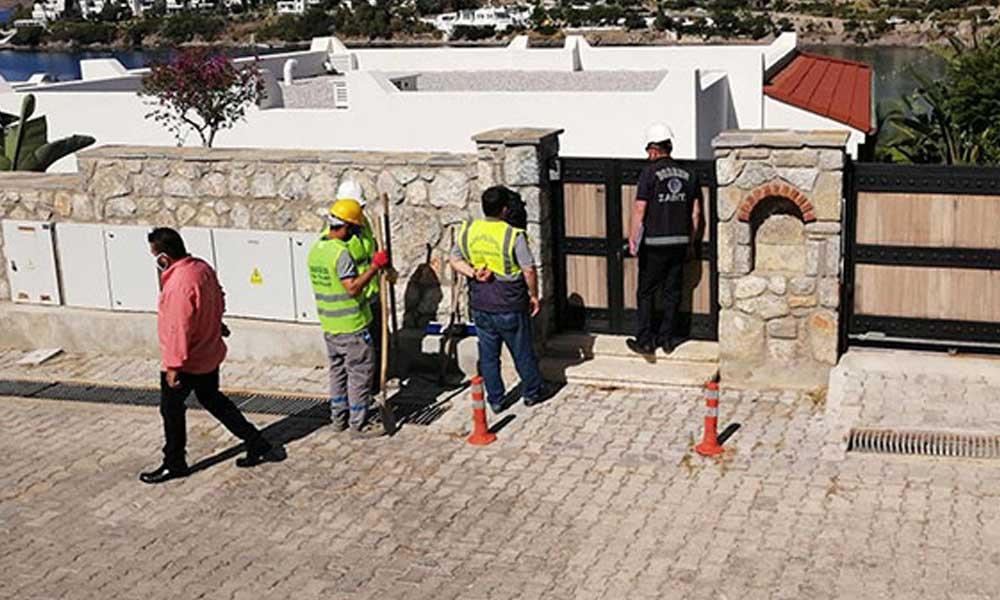 Yılmaz Özdil'in villasının yıkımı durduruldu