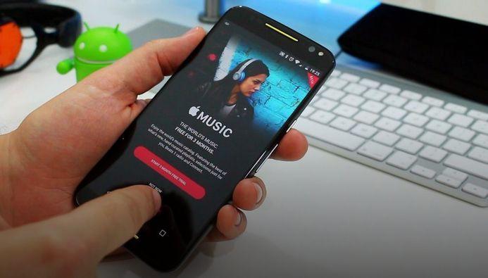 Apple Music Android için güncellendi