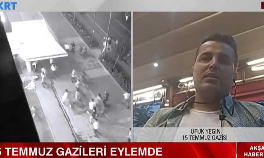 15 Temmuz Gazisi canlı yayında AKP'ye isyan etti..