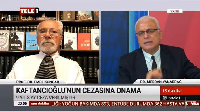 Merdan Yanardağ: Canan Kaftancıoğlu'na verilen ceza, demokrasiye yönelik en büyük saldırılardan biridir