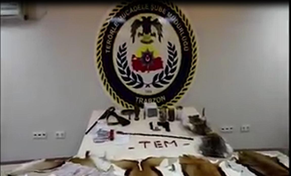 Trabzon'da muska operasyonu: 2 gözaltı