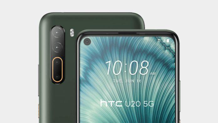 HTC U20 5G ile boy gösterdi