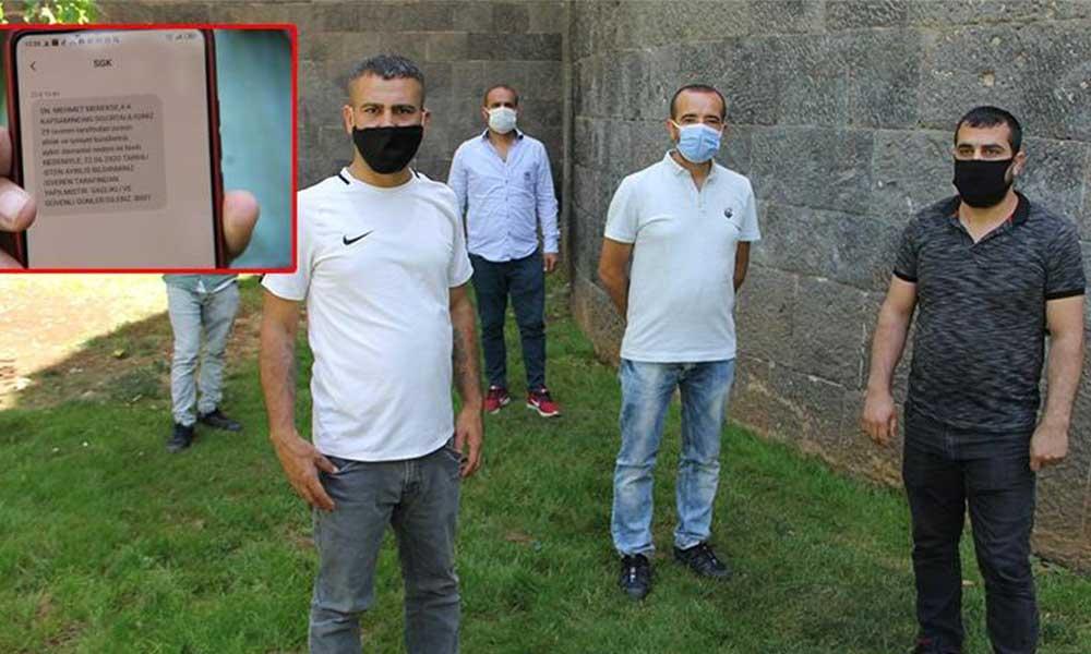 Koronavirüs testi yaptıran işçiler, SMS ile kovuldu!