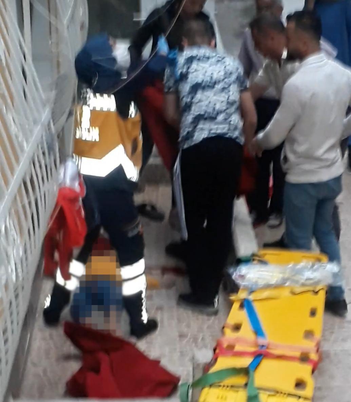 Altıncı kattan düşen 4 yaşındaki Mustafa hayatını kaybetti