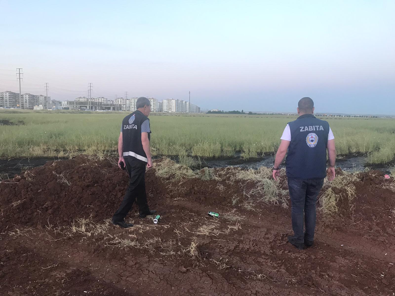 5 ton kimyasal atık tarım arazilerine döküldü