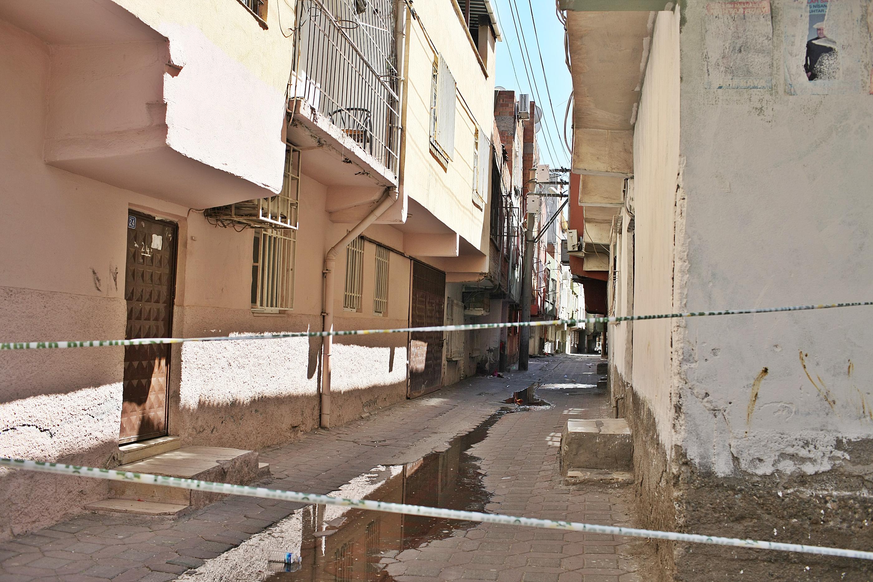 Diyarbakır'da 4 sokak karantinaya alındı