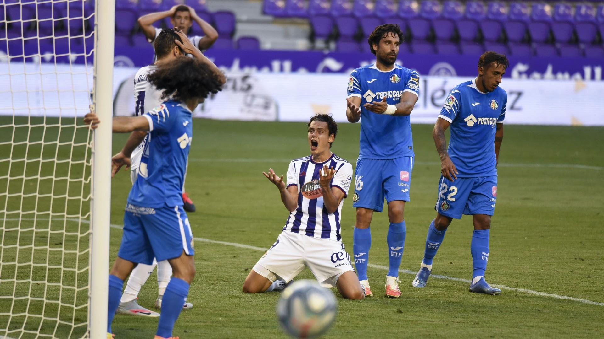 Enes Ünal'ın golü, Real Valladolid'e 1 puanı getirdi