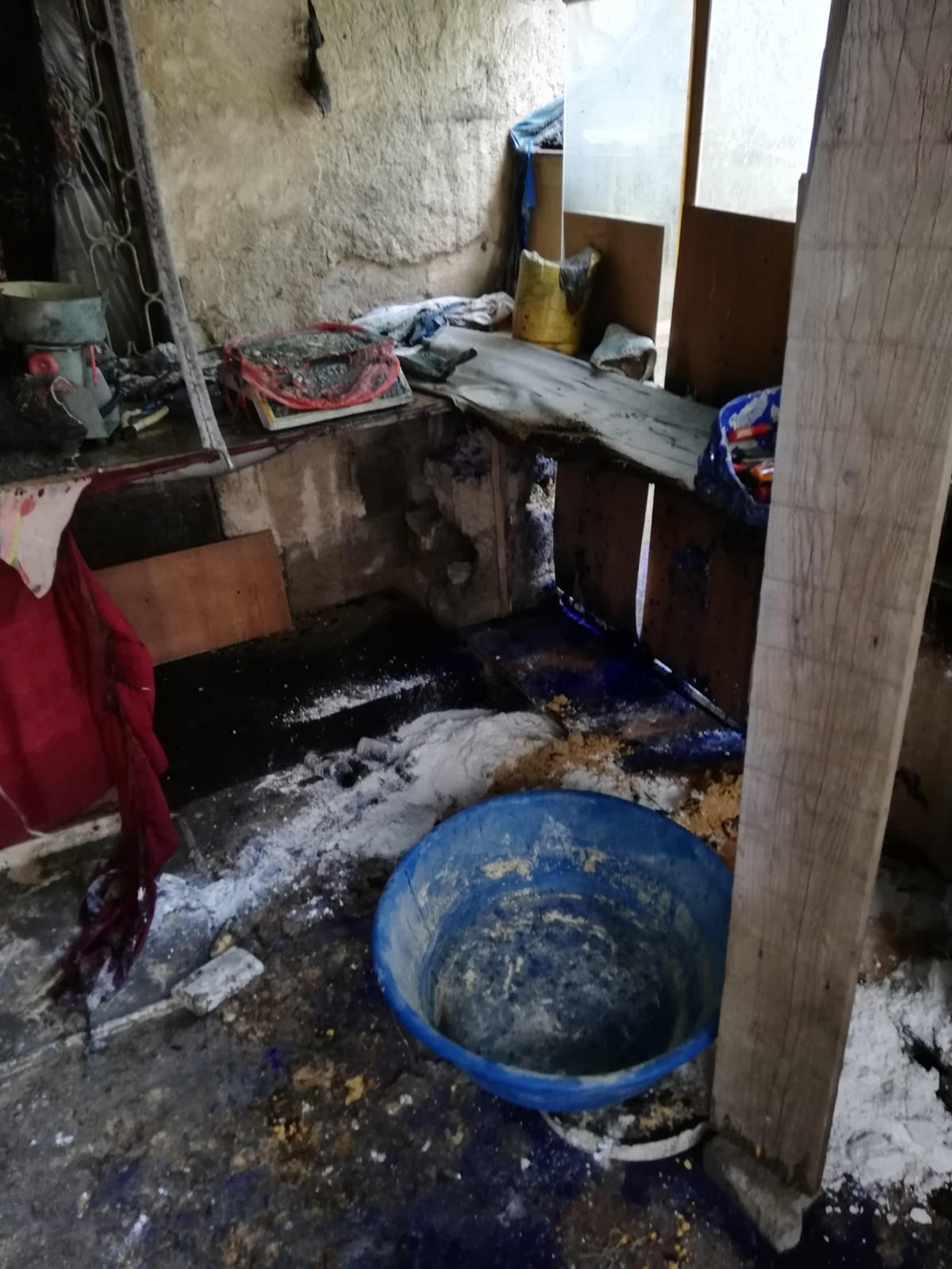 Sivas'ta kaçak 'volkan' üretiminde patlama: 1 yaralı