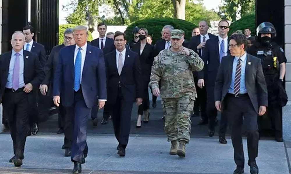 ABD Genelkurmay Başkanı ABD halkı ve ordudan özür diledi