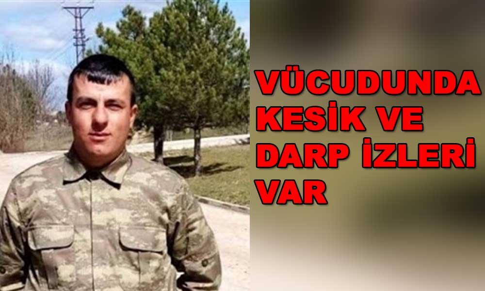 İntihar ettiği öne sürülen askerin şüpheli ölümü