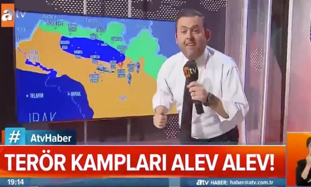 İzleyenler şaştı kaldı! Yandaş ATV'nin operasyon yayını 'parodi' sanıldı
