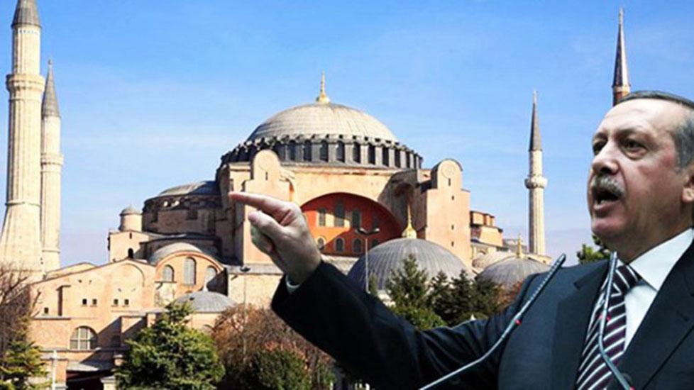 'Erdoğan, Ayasofya'nın statüsünün değiştirilmesi için talimat verdi' iddiası