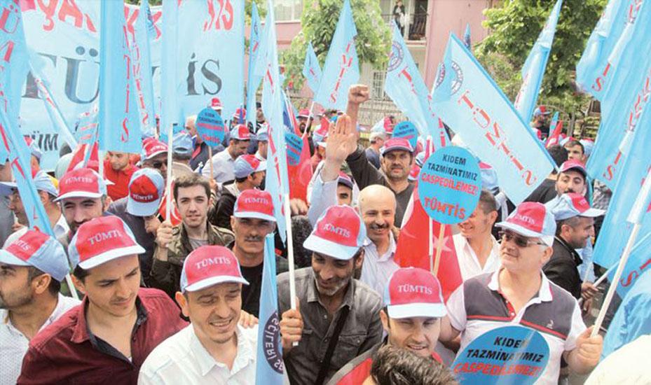 Türk-İş'e bağlı sendikalar: Kıdem tazminatına dokunmak, 'genel grev' nedeni