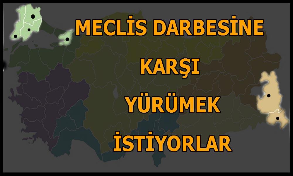 HDP korkusu: 6 ilde giriş çıkışlar yasaklandı!
