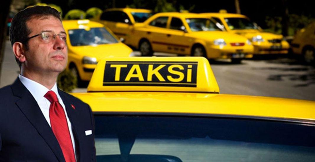 Eski Bakan'dan İmamoğlu'na taksi tavsiyesi… Yol gösterdi!