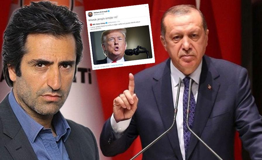 Mahsun Kırmızıgül'den Erdoğan'ın sözlerine gönderme
