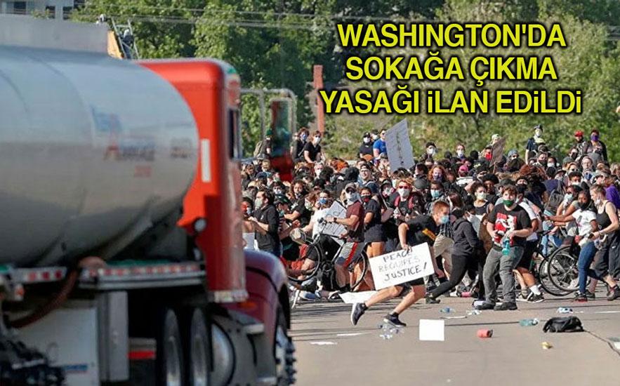 ABD'deki eylemler sürüyor! Tankeri eylemcilerin üzerine sürdü… Beyaz Saray, Trump'ın saklandığı iddialarını yalanladı