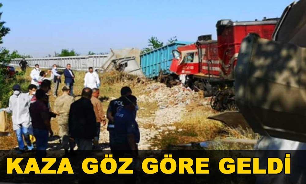 Malatya'daki kazada skandal! Arızalı olduğu için hareketi iptal edilen tren yola çıktı