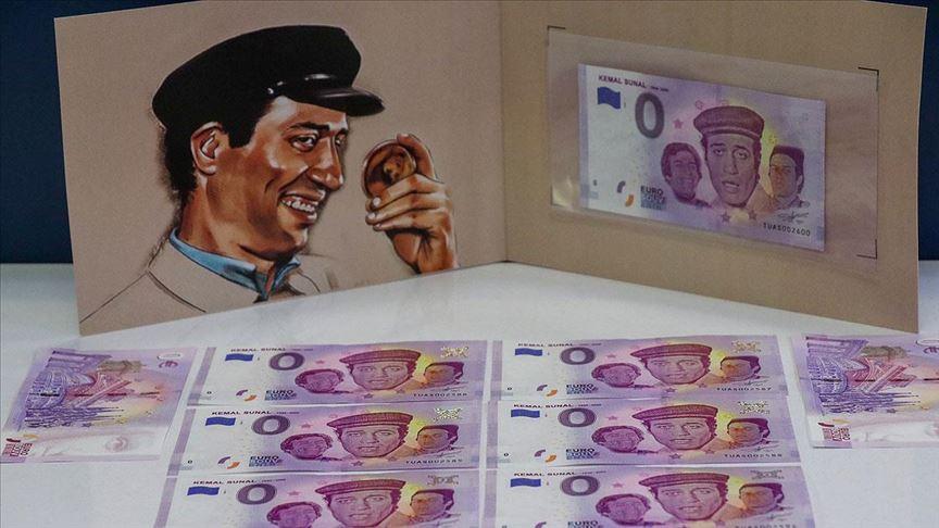 Kemal Sunal'ın anısına hatıra para basıldı