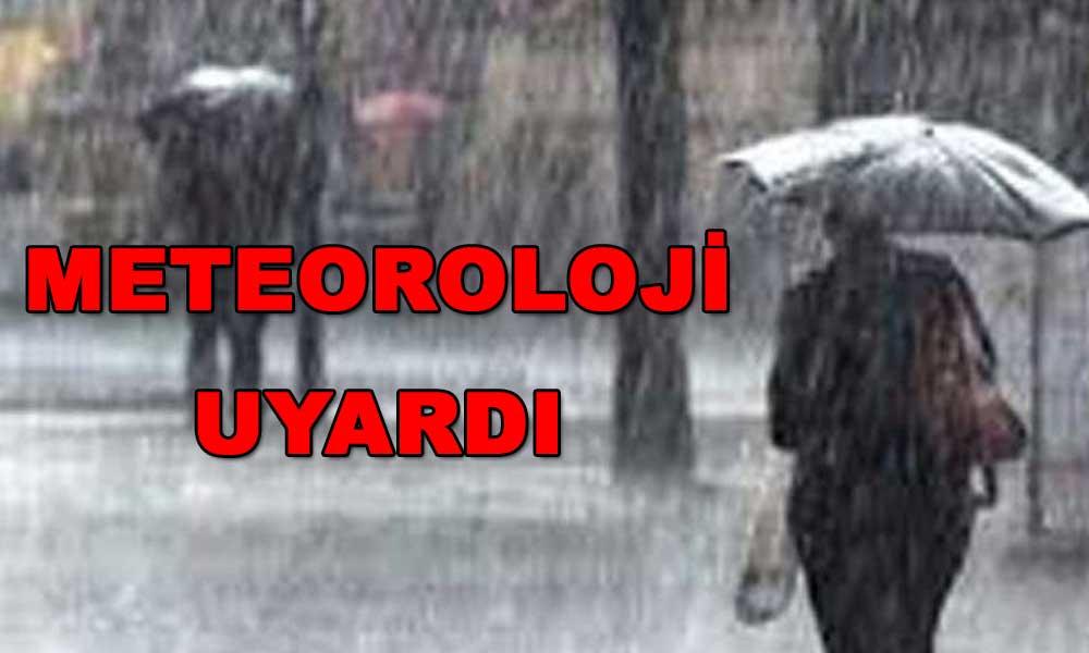 Ülke genelinde kuvvetli yağış geliyor! Bu illere dikkat…