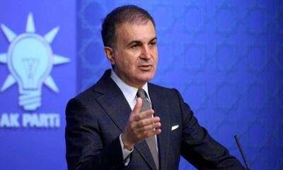 AKP Sözcüsü Ömer Çelik'ten 'Biden' mesajı