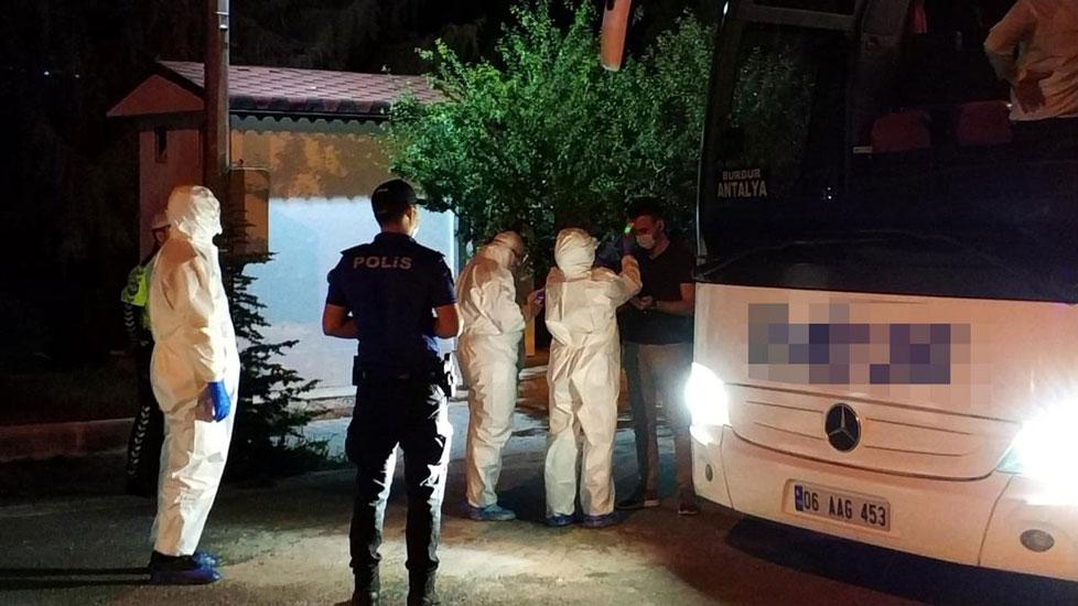Otobüste koronavirüs alarmı! Polise ihbar ettiler