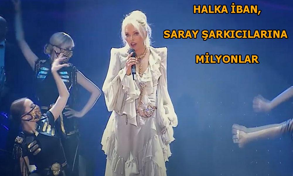 Saray'ın milyonlarca lira harcadığı sanal konser fiyasko ile bitti