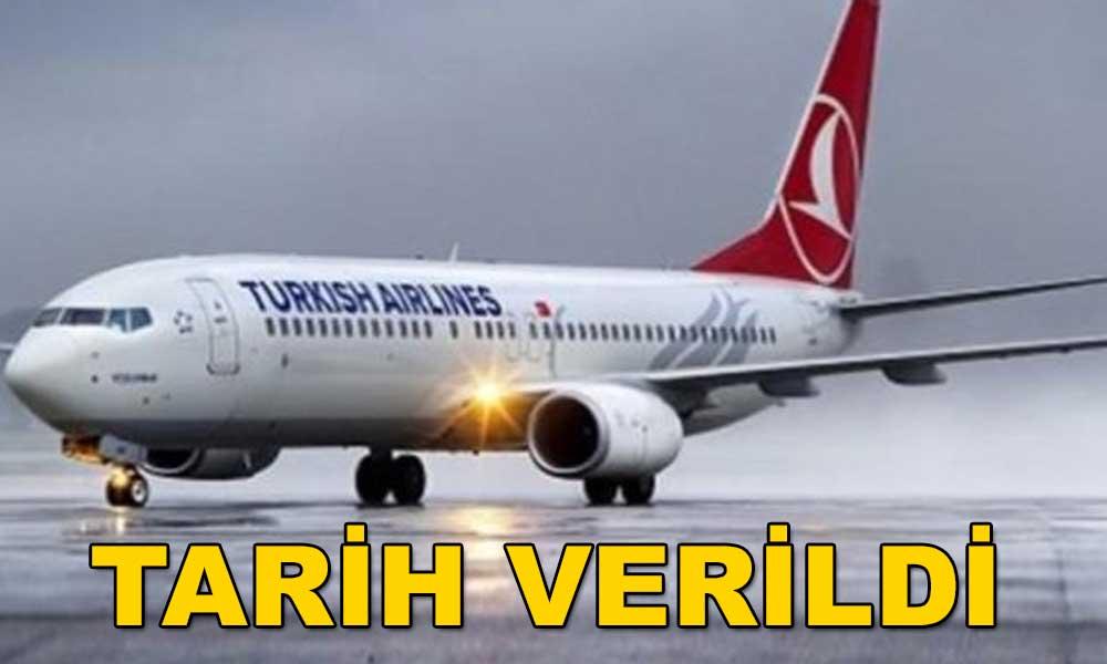 Türk Hava Yolları dış hat uçuşlarına başlıyor