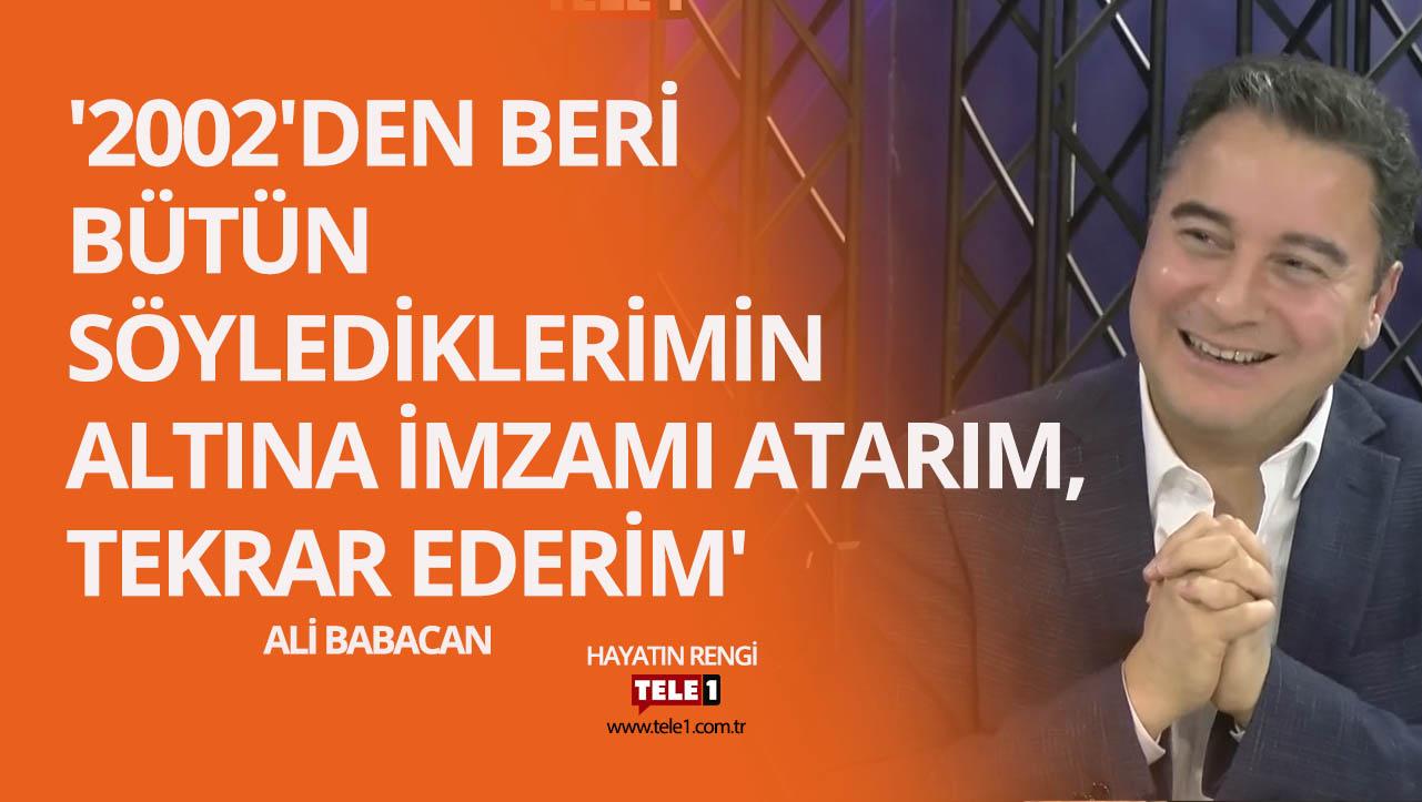 Ali Babacan: Türkiye'de veriler güvenilir değil