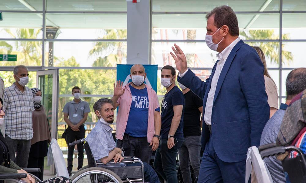 Başkan Seçer: Engellilerin hayatını kolaylaştıracak çalışmalar yapacağız