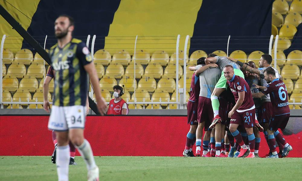 Trabzonspor'dan Fenerbahçe'ye 'Sus' işaretli gönderme
