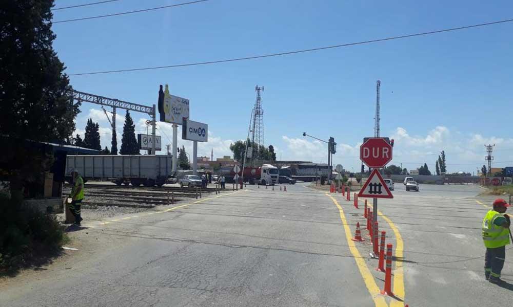 Büyükşehir'den tren hatları ve hemzemin geçitlere bakım-onarım