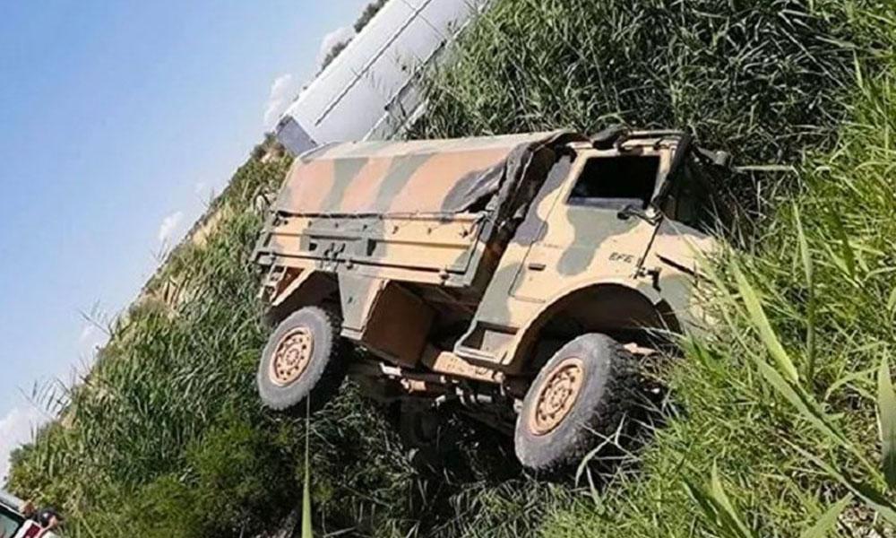 Gaziantep'te askeri araç devrildi: 1'i ağır 5 asker yaralı