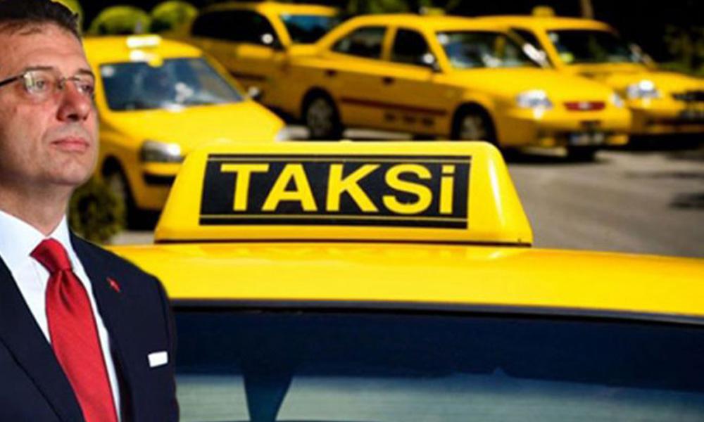 Halkın fikri yok sayıldı… İBB'nin taksi teklifine ret